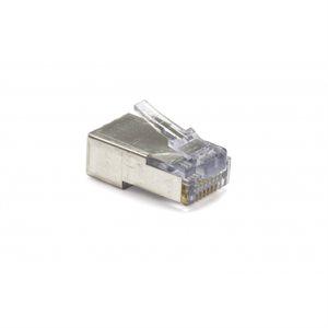 Platinum Tools EZ-RJ45 Shielded Cat 5e / 6 Connectors (50 pk)