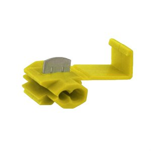 Toolbox T-Tap Double Blade Adapters (yellow, 100 pk)