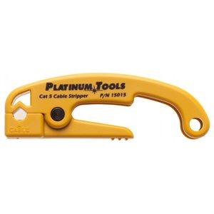Platinum Tools Cat 5 / 6 Cable Jacket Stripper (PVC)