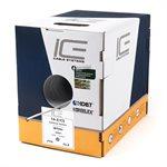 ICE 16 / 2CS 65-Strand Speaker Wire 1,000' Box (white)
