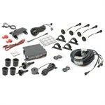 Rostra BackZone Parking Aid w / 4 Sensors / Display / 25' Harness
