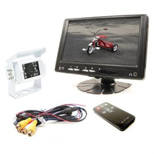 """Rostra RearSight 7"""" LCD Monitor & CCD Color Camera Kit"""