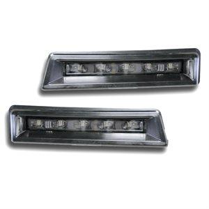 Rostra 5-LED Jeep Wrangler Daytime Running Lights (black)