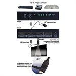 Vanco HDMI 3x1 4K2K Switch with IR Control
