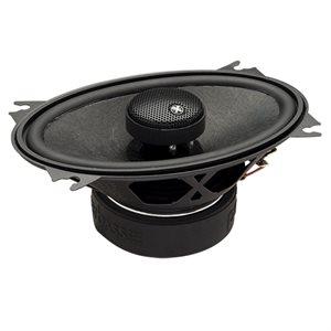 "PowerBass 4""x6"" Full-Range Coaxial Speakers (pair)"