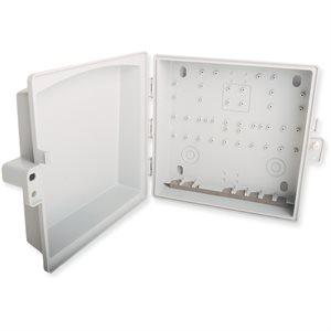 "Multilink Plastic Drop Box 10""H x 10""W x 3.22""D"