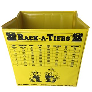 Rack-A-Tiers Small Pop-up Garbage Can