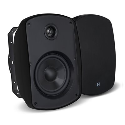 "Russound 5.25"" Outdoor 2-Way Loudspeakers (black, pair)"