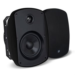 "Russound 5.25"" 5 Series Outdoor Speaker MARK 2(pair)(black)"