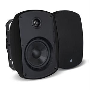 "Russound 6.5"" Outdoor 2-Way Loudspeakers (black, pair)"
