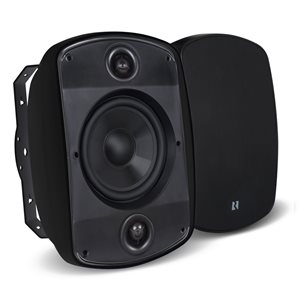 "Russound 6.5"" 5 Series Single-Point  Outdoor Speaker Mark 2, (each)(black)"