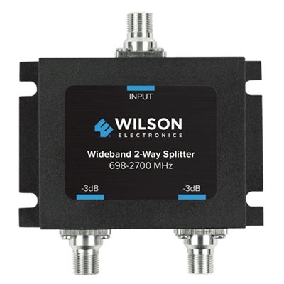 WeBoost Splitter 2 Way -3 dB 698-2700 MHz w / F Female Connectors