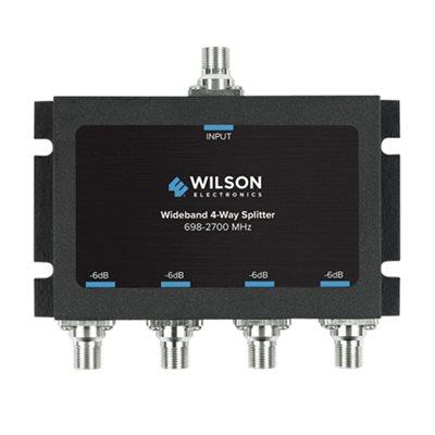 WeBoost Splitter 4 Way -6 dB 698-2700MHz w / F Female Connectors