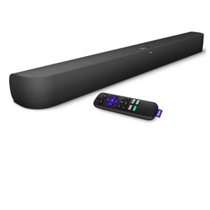 Roku Smart Soundbar w /  BT, Dolby Audio & voice control