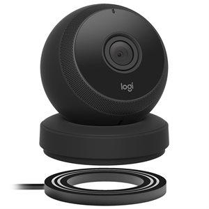 Logitech Circle Portable Home Connection Camera (black)