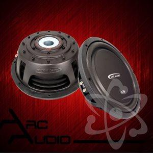 "ARC Audio A-Series Flat 12"" Subwoofer, Dual 4-Ohm, 600W Peak, 300W RMS"