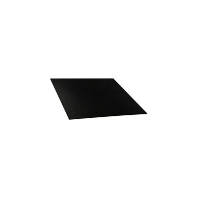 "Install Bay 12""x12""x1 / 16"" ABS Plastic Sheet (black)"
