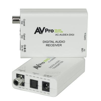 AVPro AC Universal 150M Digital Audio CAT Extender Toslink / C
