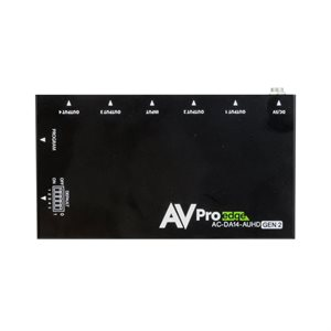AVPro Edge 18Gbps Distribution Amp 1x4 w /  Scaler and Audio E