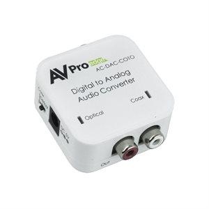 AVPro Edge Digital  /  Analog Audio Converter - Optical  /  Coax