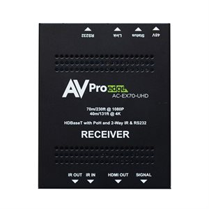 AVPro Edge Ultra Slim 4K HDMI via HDBaseT 70 Meter Receiver