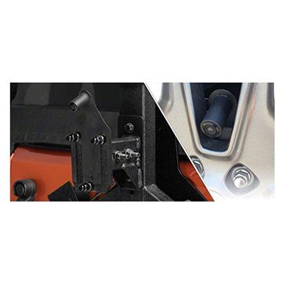 Audiovox 2007-2017 Jeep Wrangler Spare Tire Mount Bracket w / Camera