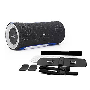 Alpine Turn1 Waterproof Bluetooth Speaker with Universal Mounting Bracket Package