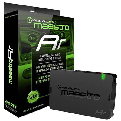 iDatalink Maestro RR Universal Radio / Steering Wheel Controls