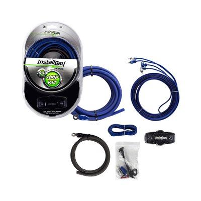 Install Bay 4 ga 1,600W Value Amp Kit Complete