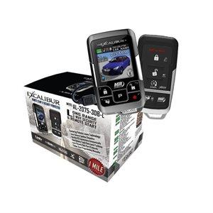 Excalibur 2-Way 1-Mile Range Alarm Remote Start System