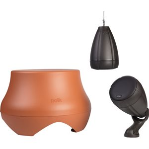 Polk Atrium Outdoor Speaker System w / Sub (terracotta)