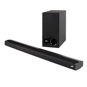 Polk Signa S1 Low-Profile Soundbar w / Wireless Sub