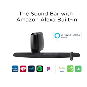 Polk COMMAND Bar Soundbar w / Alexa and Wireless Sub