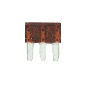 Metra 7.5 Amps ATL Dual Circuit 3-Prong Micro Fuses (5 pk)