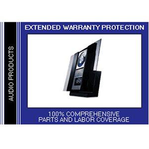 CPS 2 Year Audio Warranty - Under $2,000