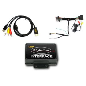 Crux Dodge / Jeep AV Input OEM Integration Kit