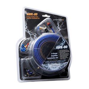 PowerBass Heavy-Duty 8 ga Autosound Amplifier Install Kit