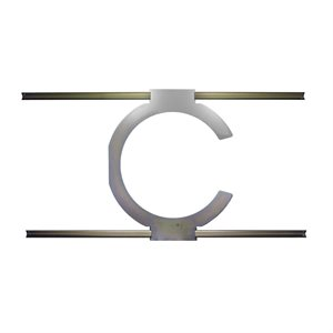 TruAudio Drop Tile Ceiling Bridge Bracket for CL-70V-6UL