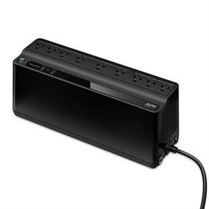 APC Back-UPS 850VA, 2 USB charging ports