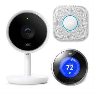 Google Nest Bundle (Indoor IQ, NLT, Protect)