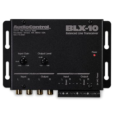 AudioControl Balanced Line Sender and Receiver