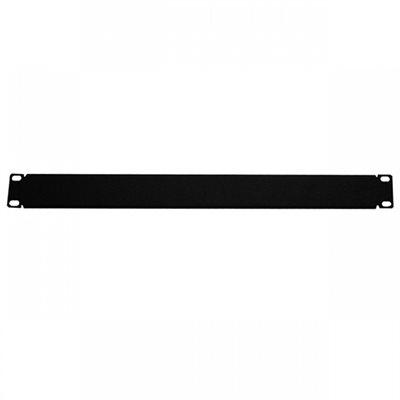"Quest 1U 19"" Horizontal Non-Vented Filler Panel"