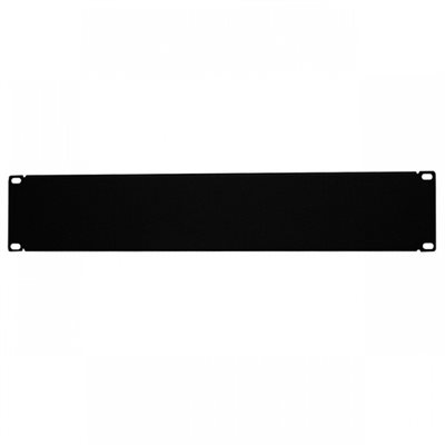 Quest 2U Non-Vented Rack Blank Plate