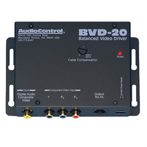 AudioControl Balanced Component Video / Digital Audio Driver