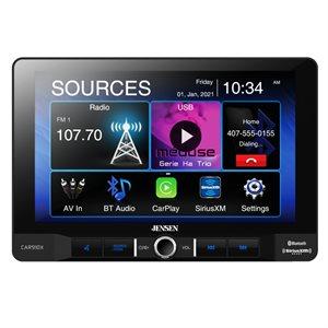 "Jensen 9"" LCD CP / AA Mechless SXM Receiver (1Din)"