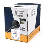 ICE Cat 6 550MHz Riser HDBaseT Certified 1,000' Box (white)