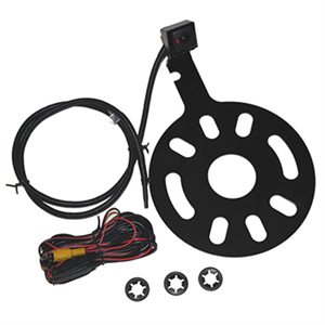 Crux Jeep Wrangler Spare Tire Mount Camera