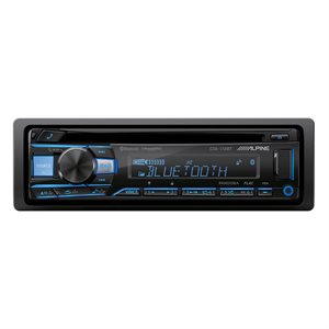 Alpine CD Receiver w / Advanced Bluetooth
