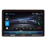 """Jensen 10.1"""" Extra-Large Capacitive Touchscreen LCD (1024p x 600p), Built-in Bluetooth"""