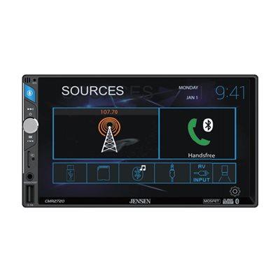 "Jensen 7"" Capacitive touchscreen LCD (1024x600), Built-in Bluetooth"